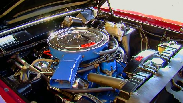 1969 Ford Talladega 428 Cobra Jet engine