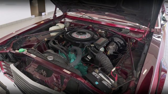 1978 Dodge Aspen Street Kit Car engine