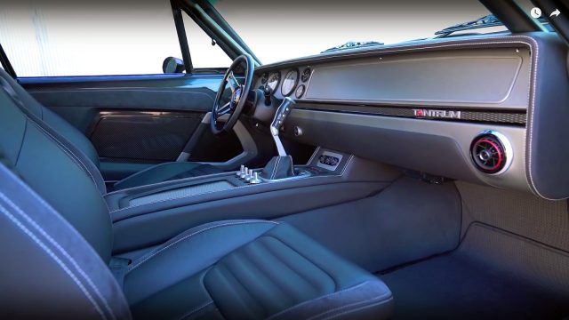 SpeedKore Performance 1970 Dodge Charger Tantrum interior