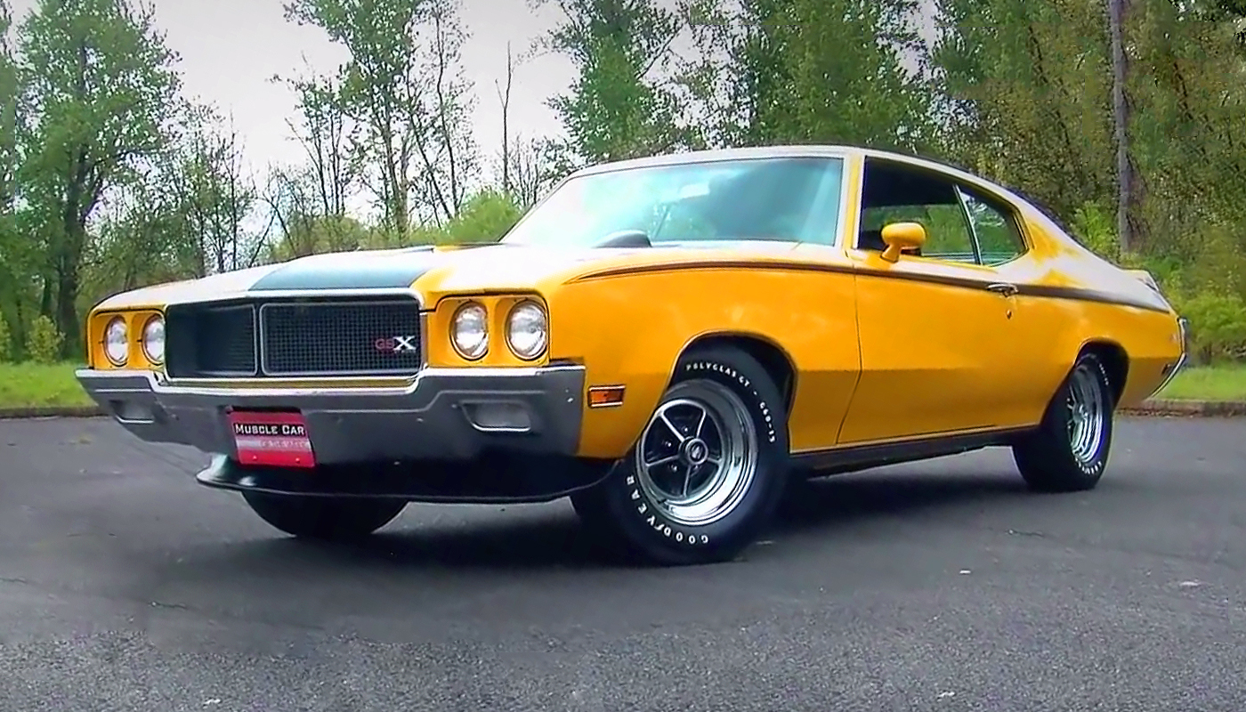 1970 Buick GSX 455 Stage 1 - The Legendary Muscle Car