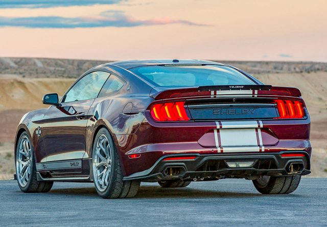 2018 Shelby Super Snake back