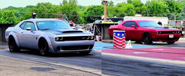 Demon vs Hellcat