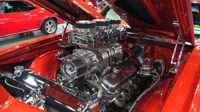 Top Notch 1969 Chevrolet El Camino Street Machine engine