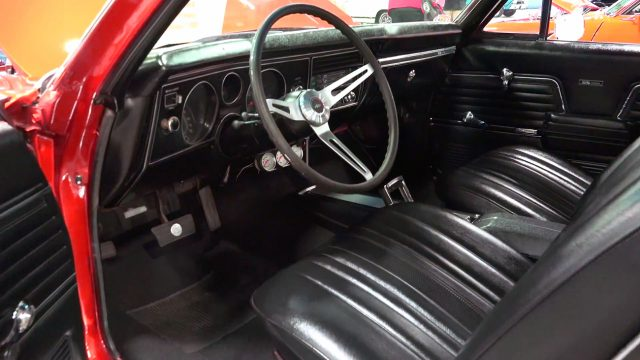 Top Notch 1969 Chevrolet El Camino Street Machine interior