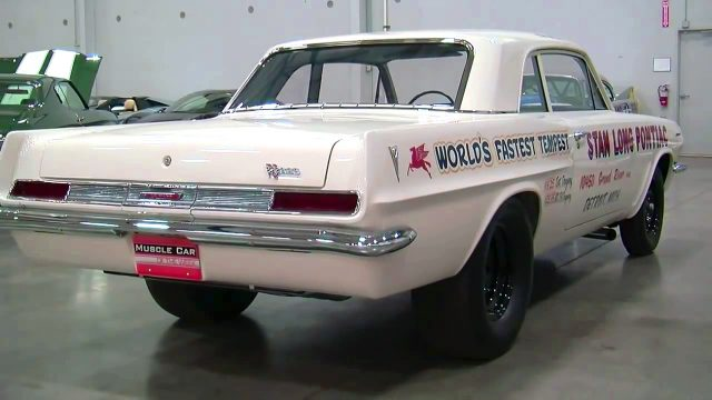 Stan Long 1963 Pontiac Tempest 421 Super Duty back