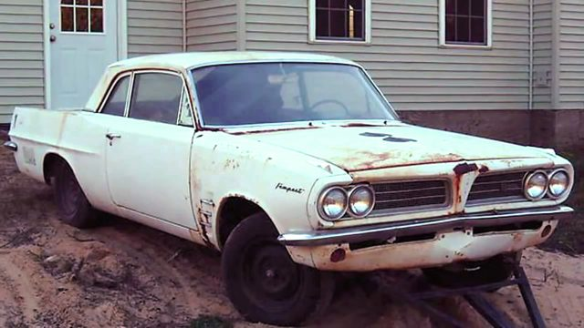 Stan Long 1963 Pontiac Tempest 421 Super Duty barn find