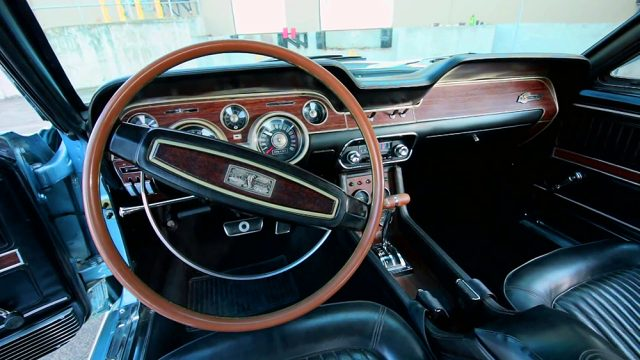 1968 Shelby GT500KR Convertible Interior