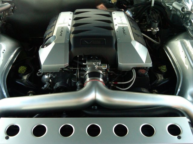 LS Powered 1979 Pontiac Trans Am LS engine
