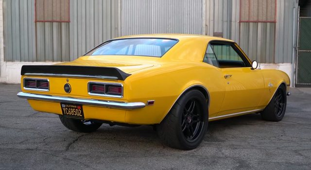1968 Chevrolet Camaro back