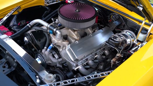 1968 Chevrolet Camaro 502 big-block engine