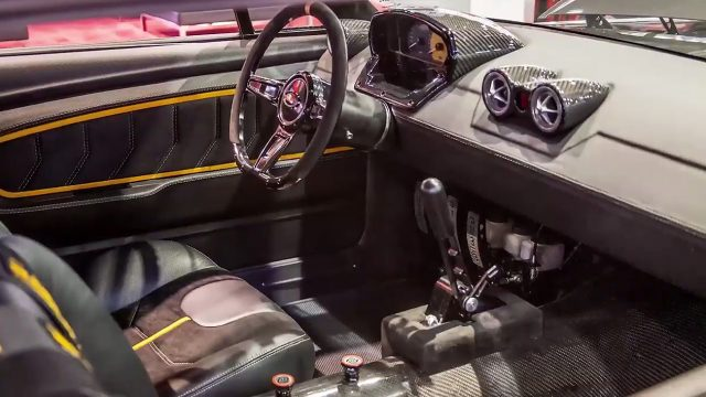 1968 Ford Mustang Coupe Corruptt Mustang Interior