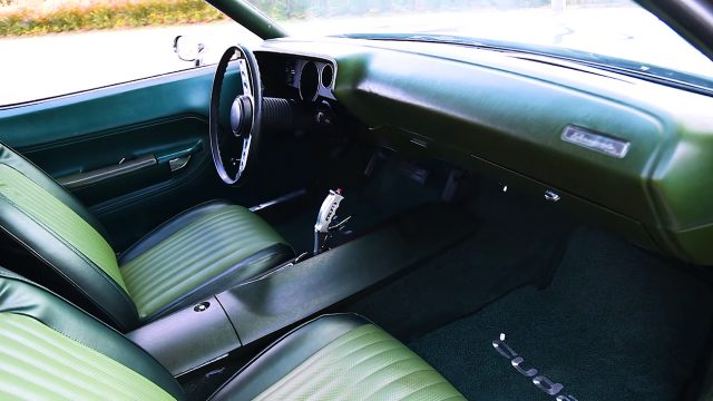 1973 Plymouth Cuda Interior