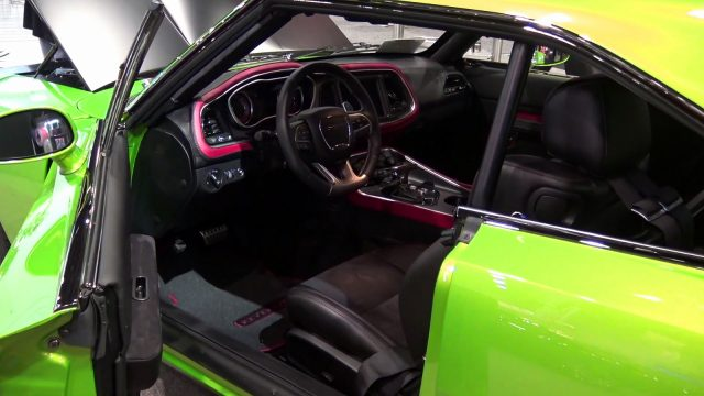 Reverence 1969 Hellcat Charger Interior