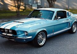 Brittany Blue Metallic 1967 Shelby GT500