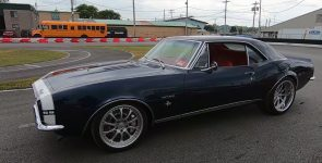 Classic 1967 Chevrolet Camaro SS RS with Modern Touch
