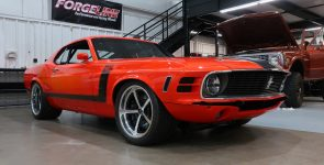 Powerful 1970 Boss 302 Ford Mustang Pro Touring
