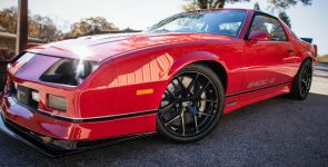 Powerful 1987 Chevy Camaro IROC Z with 427 Under the Hood