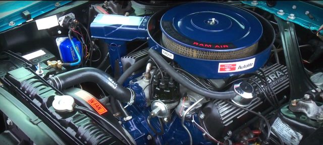 1969 Shelby Mustang GT350 engine