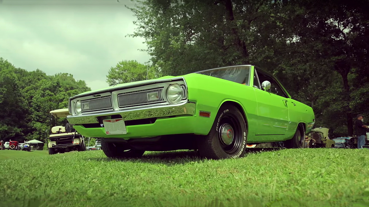 The Sweetest Sublime Green 1970 Dodge Dart Swinger