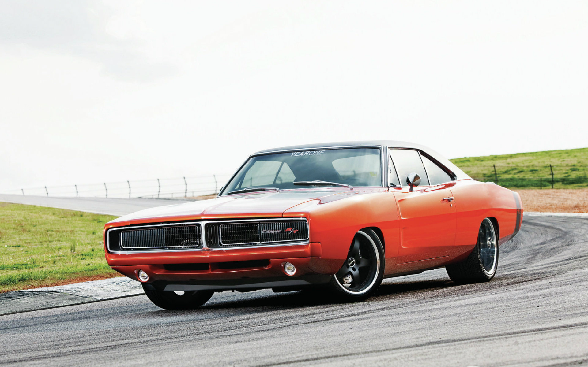 badass yearone 1969 dodge charger rt pro touring. Black Bedroom Furniture Sets. Home Design Ideas