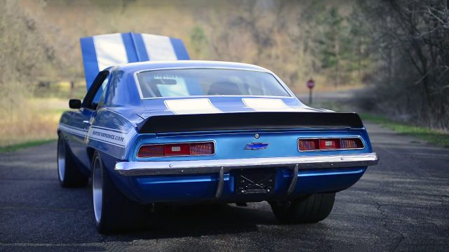 1969 RS/SS Camaro. Complete Custom Pro Touring car, engineered ...