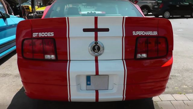 2005 Ford Mustang Shelby GT500 Eleanor Back