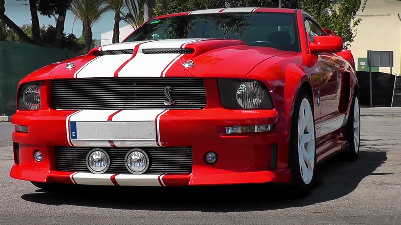 Awesome 2005 Ford Mustang Shelby Gt500 Eleanor