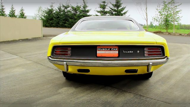 Lemon Twist 1970 Plymouth Hemi Cuda