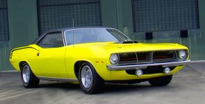 Unusual Lemon Twist 1970 Plymouth Hemi Cuda Hardtop