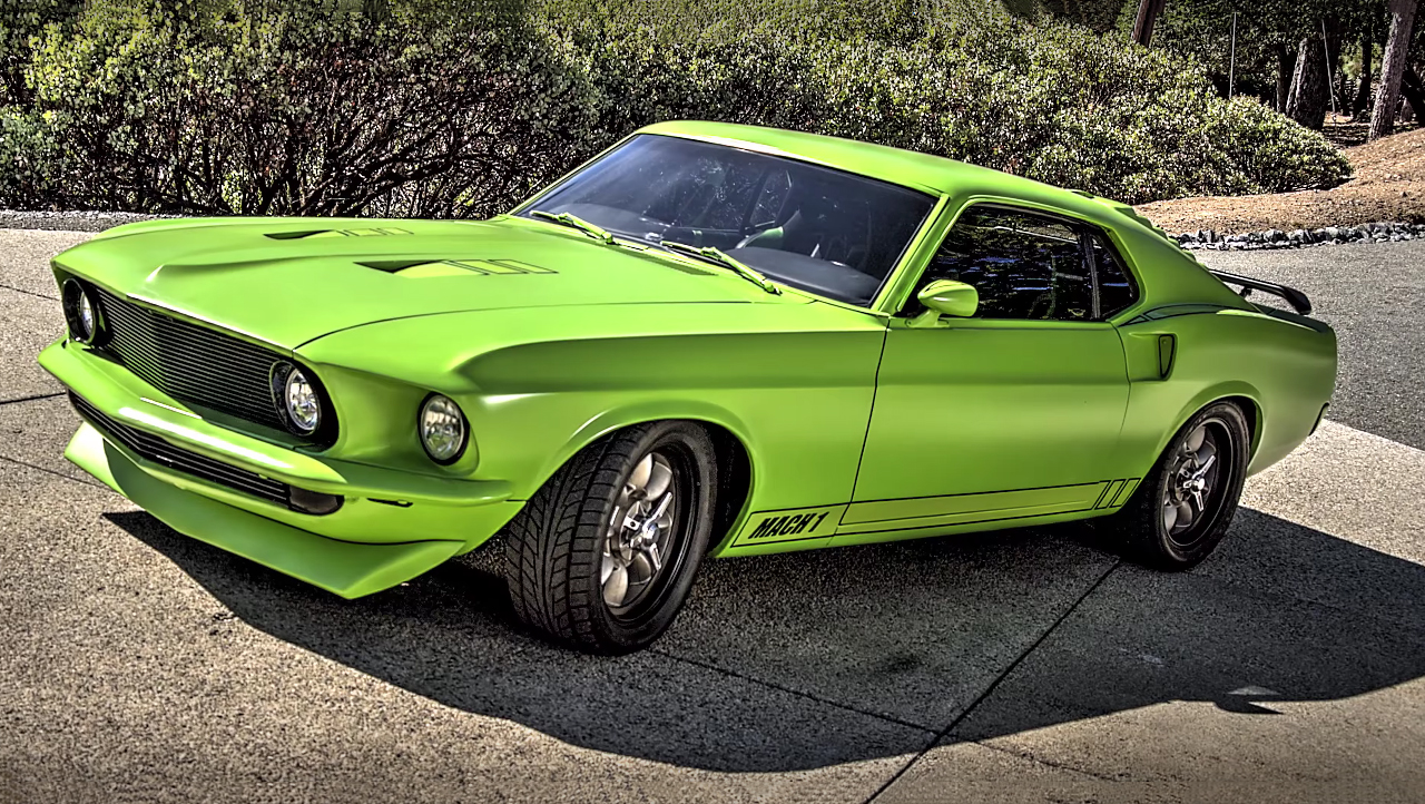 2016 Mustang Hood Scoop >> Green Stealth 1969 Ford Mustang Mach 1 - More Than Pony