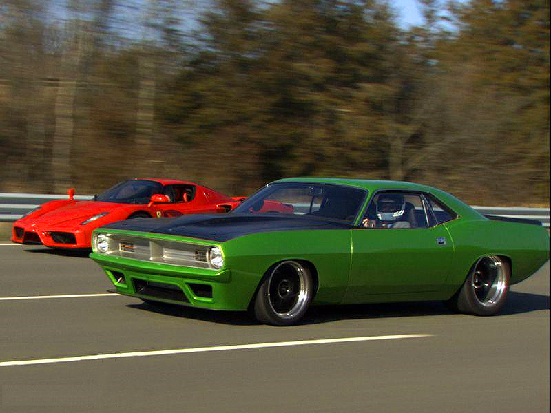 208 MPH 1970 Plymouth Cuda - The Fastest Cuda in the World