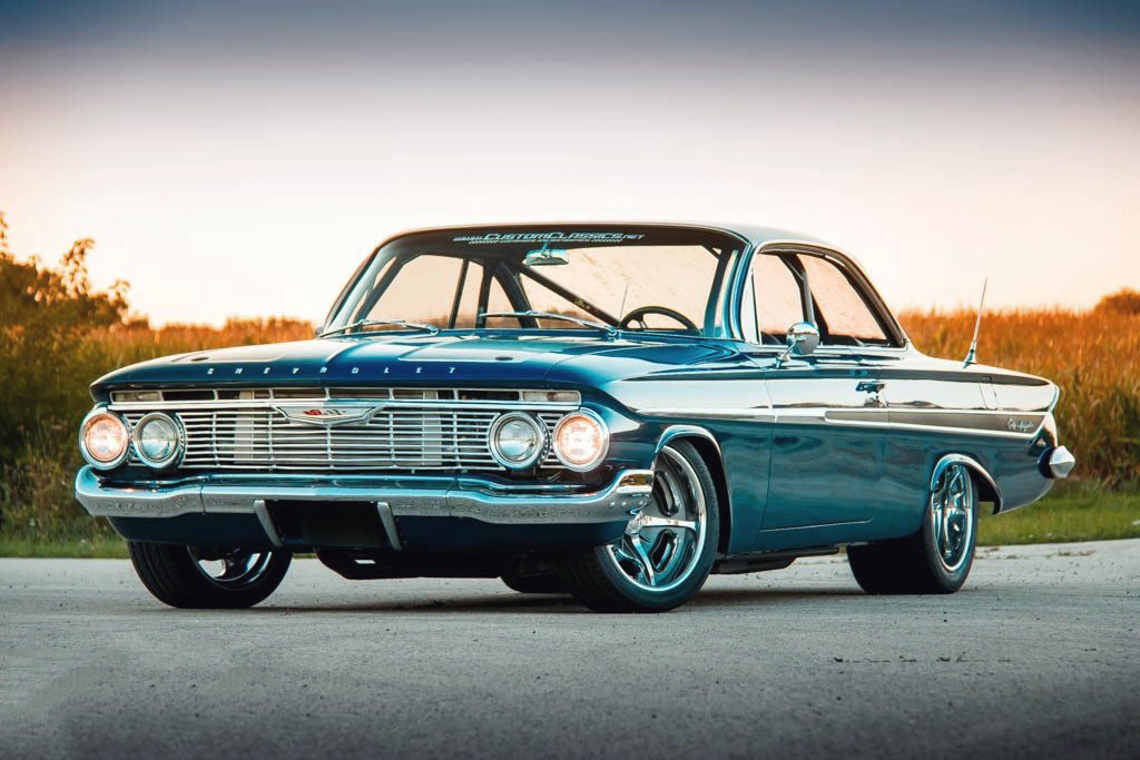 Check This 1500 Horsepower Pro Touring 1961 Chevrolet Impala