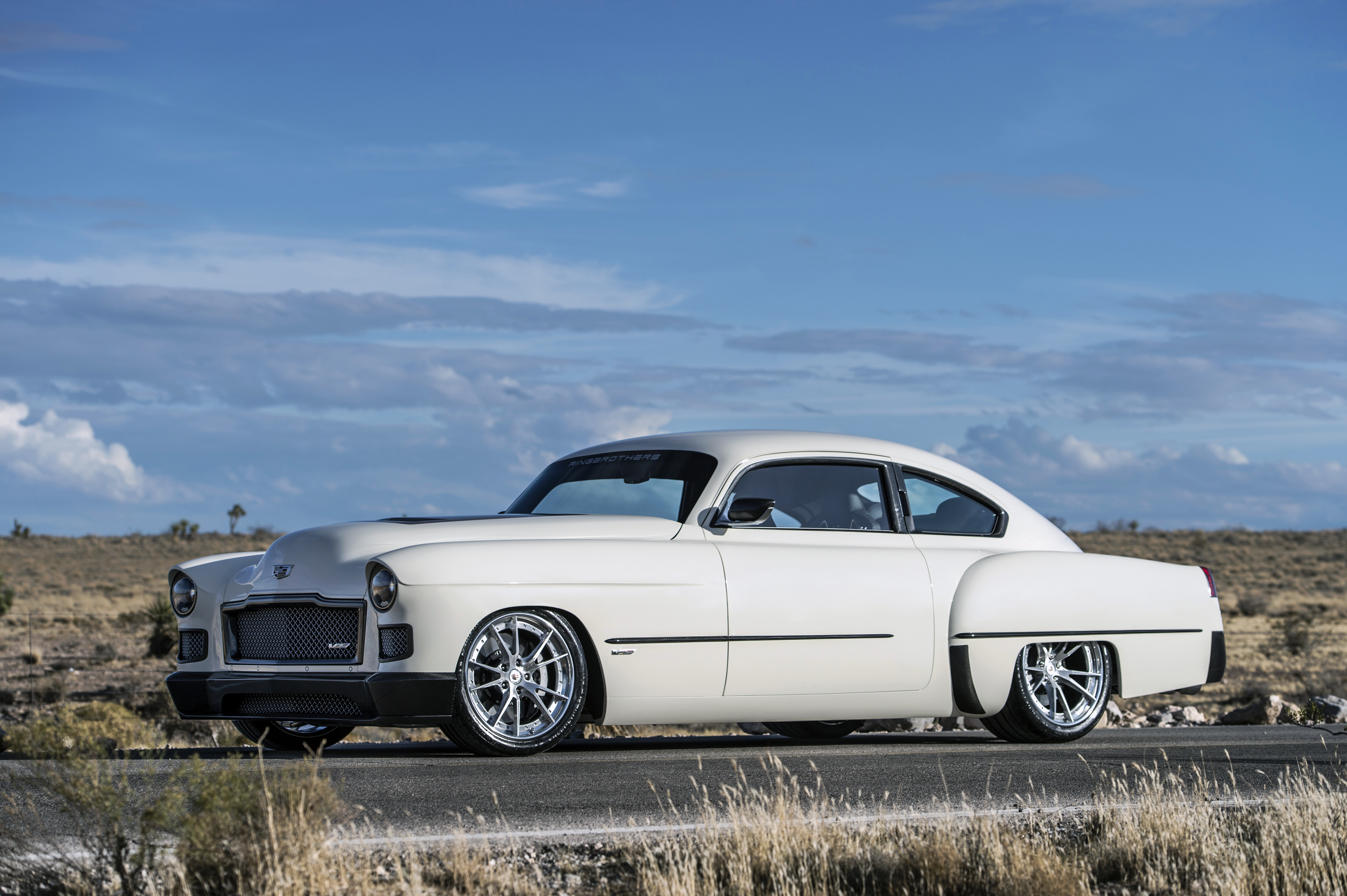 "Amazing 1948 Cadillac Fastback ""Madam V"" by Ringbrothers"