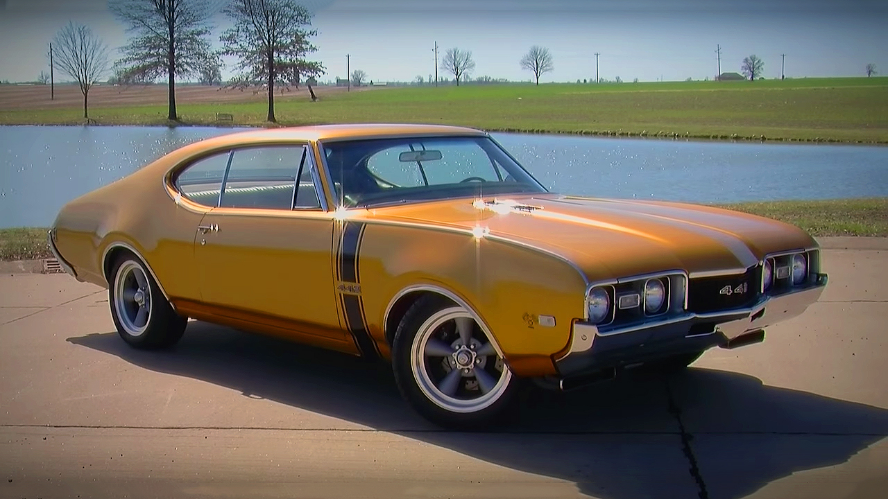 Awesome and Supercharged 1968 Oldsmobile Cutlass 442