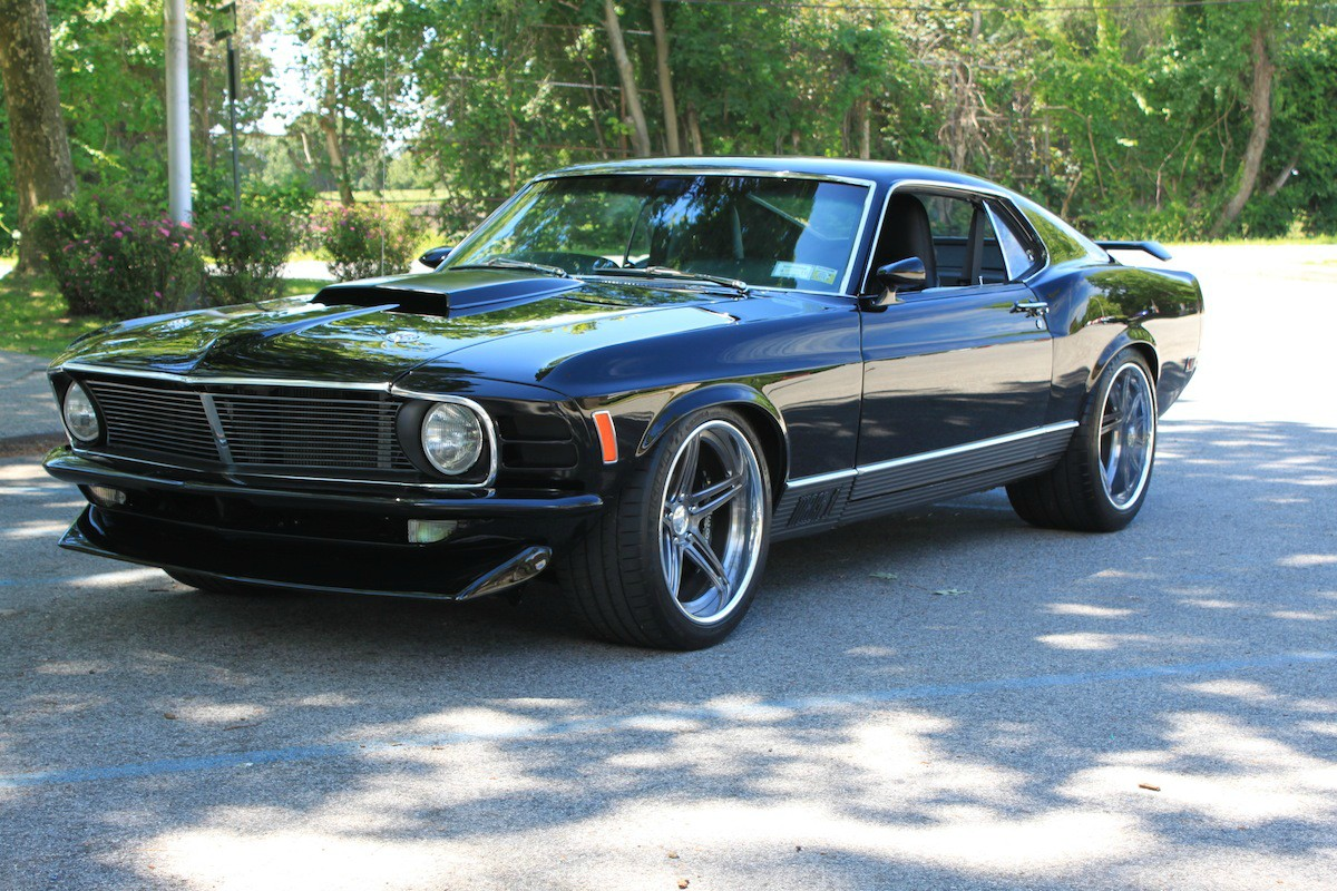Elegant 1970 ford mustang mach 1 fastback with powerful attitude