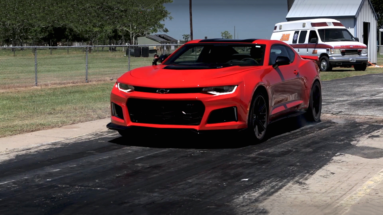 Check This 10 Seconds Hennessey Hpe850 Zl1 Camaro