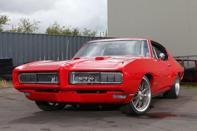 Art On Wheels - Pro Touring 1968 Pontiac GTO by Metal Works