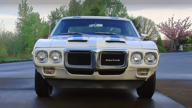 Legendary 1969 Pontiac Firebird Trans Am – Ram Air IV 400