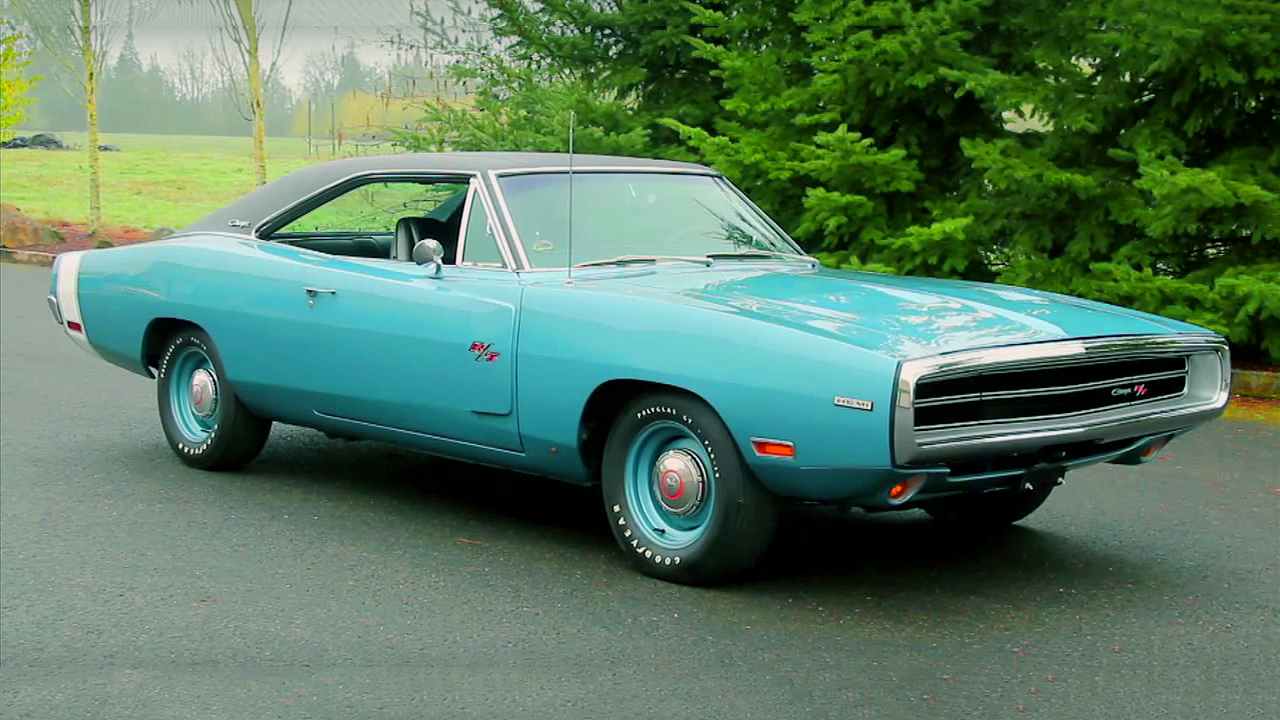 Gorgeous EB3 Light Blue Metalic 1970 Dodge Charger R/T 426 Hemi