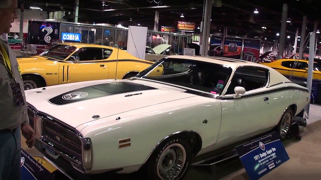 The Last 426 Hemi Produced ! - 1971 Dodge Charger Hemi Super Bee