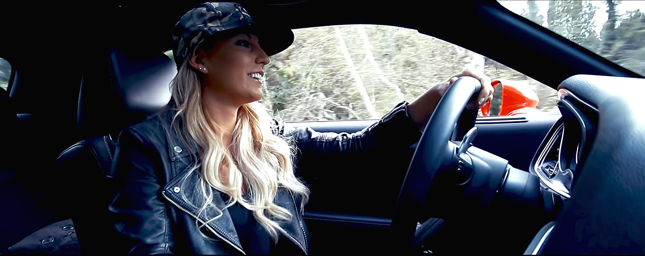 The Queen Of The Speed Leah Pritchett Drives Her 707 Horsepower Hellcat Challenger