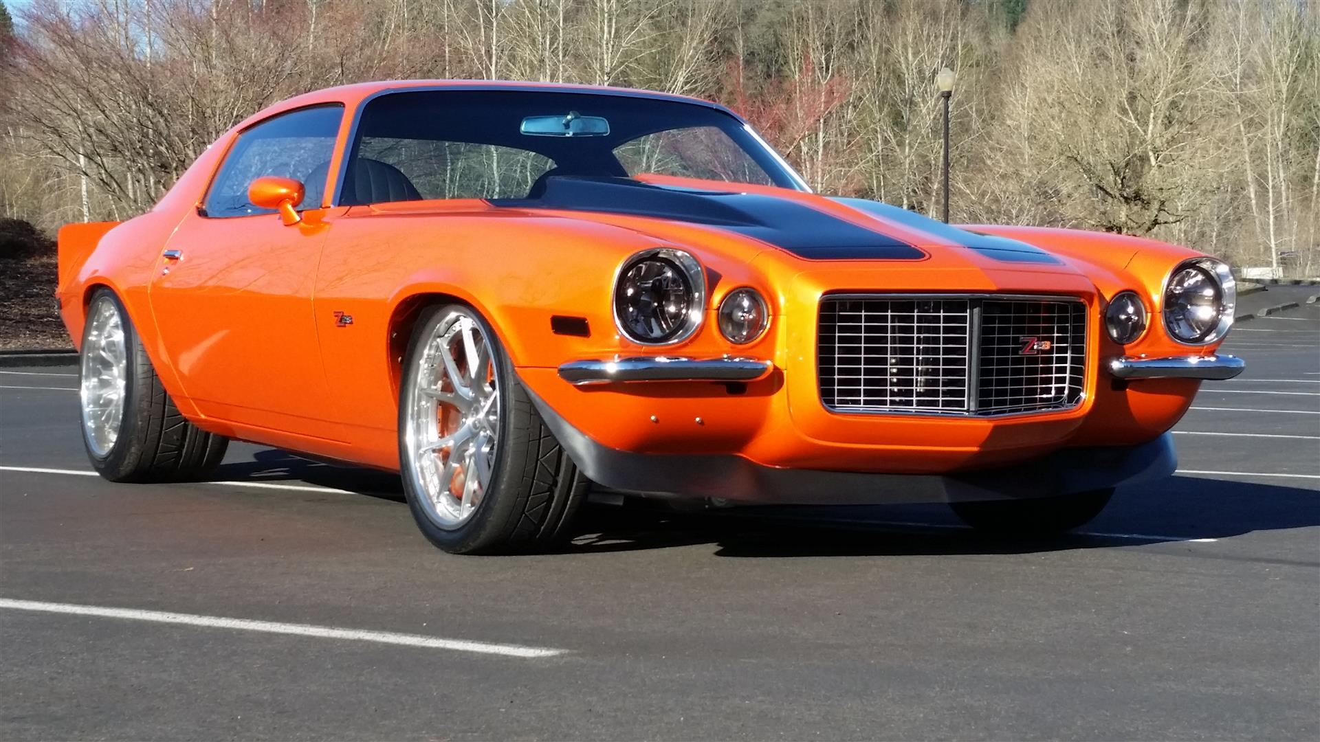Awesome Orange Pro Touring 1971 Chevrolet Camaro by Jeff Richards