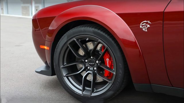 New Widebody 2018 Dodge Challenger SRT Hellcat Wheels