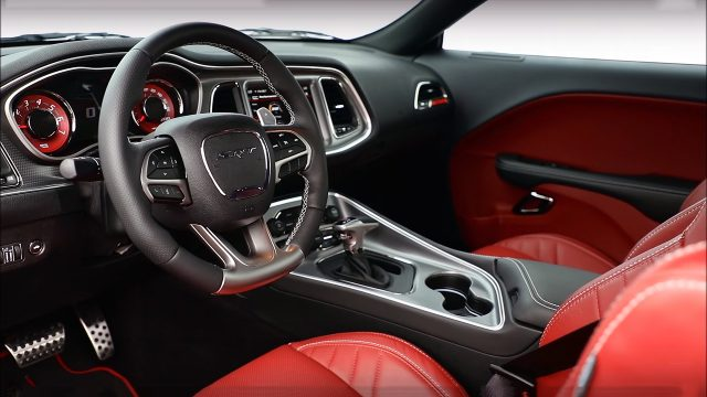 New Widebody 2018 Dodge Challenger SRT Hellcat Interior