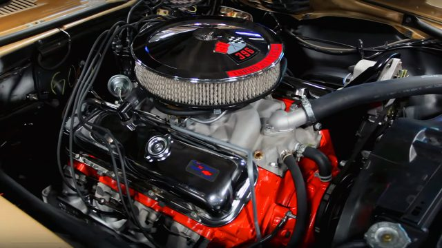 1967 Chevrolet Camaro SS 396 Convertible Engine