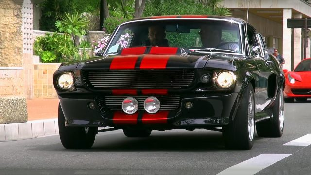 1967 Shelby Mustang GT500 Eleanor on the streets of Monte Carlo