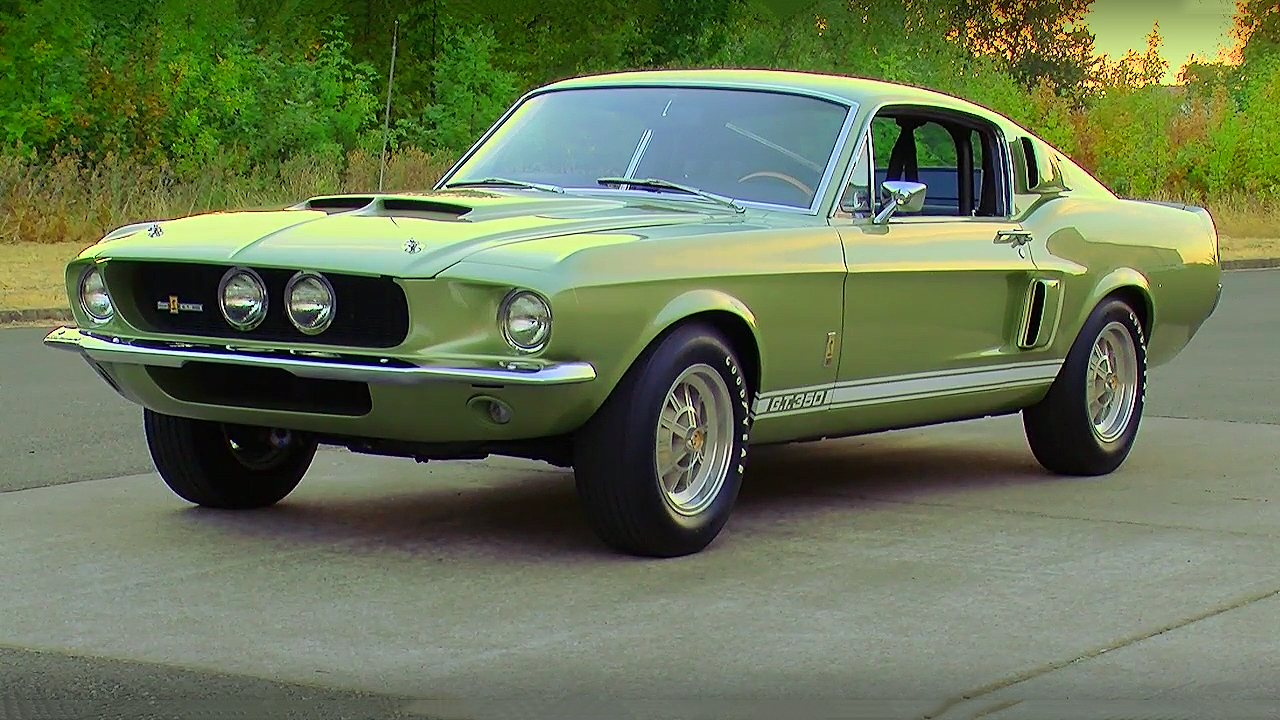 beautiful light green metallic 1967 shelby gt350. Black Bedroom Furniture Sets. Home Design Ideas
