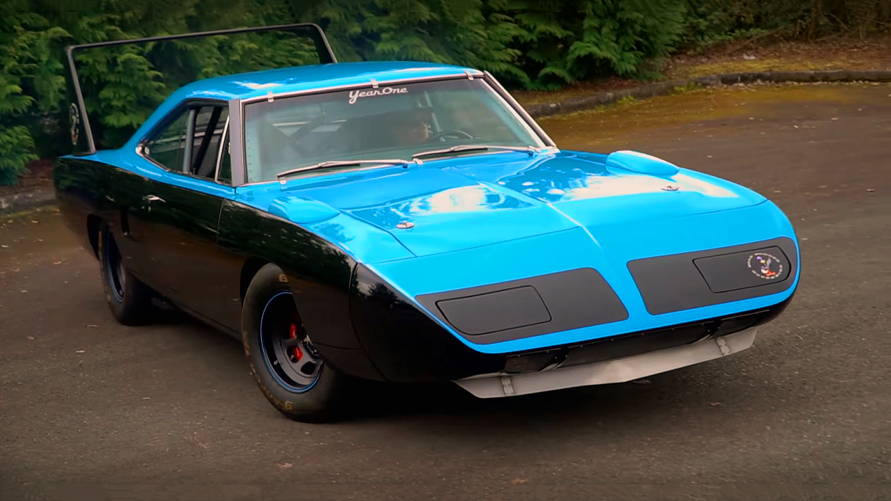 Check this Amazing 1970 Plymouth Superbird Race Car