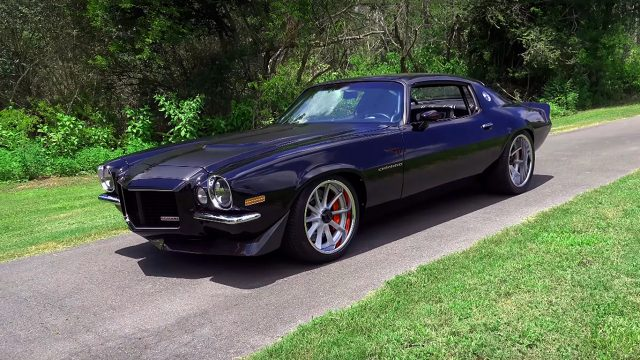 Awesome Pro Touring 1970 Chevrolet Camaro by Greening Auto Company
