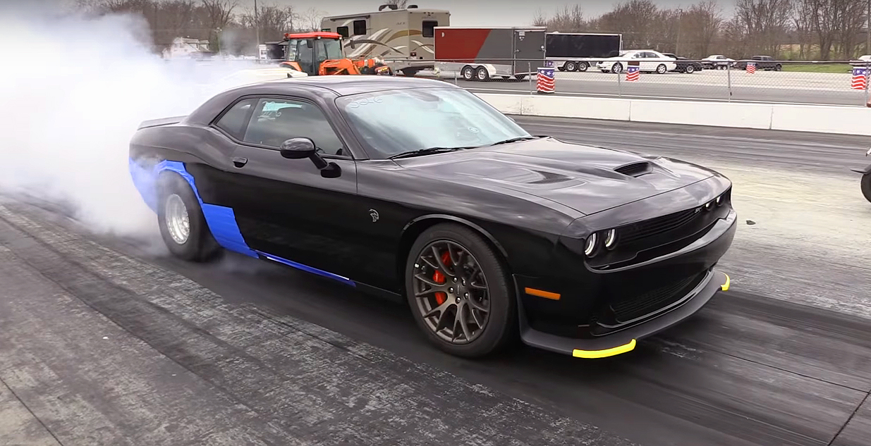 This Hellcat Challenger Has Been Pushed Too Hard Beyond the Limits
